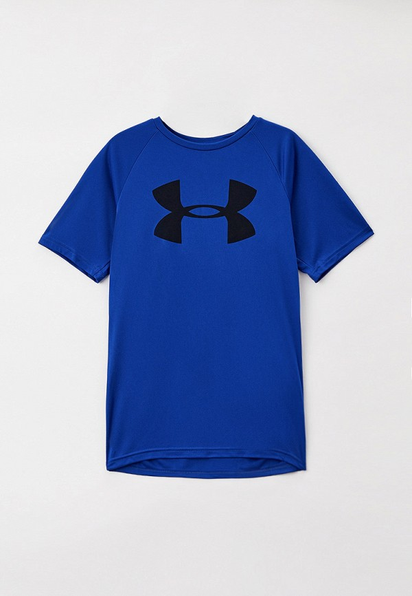 футболка с коротким рукавом under armour малыши, синяя