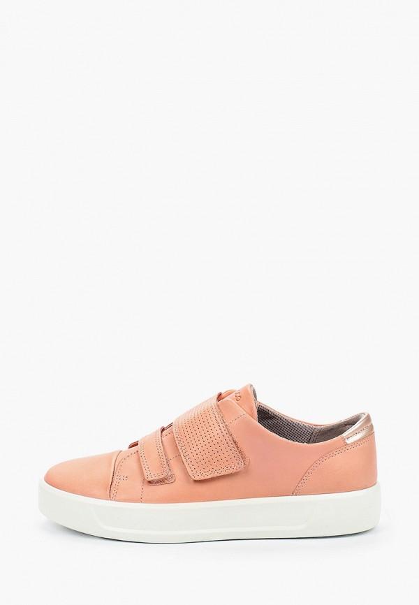 Кеды для мальчика Ecco цвет розовый