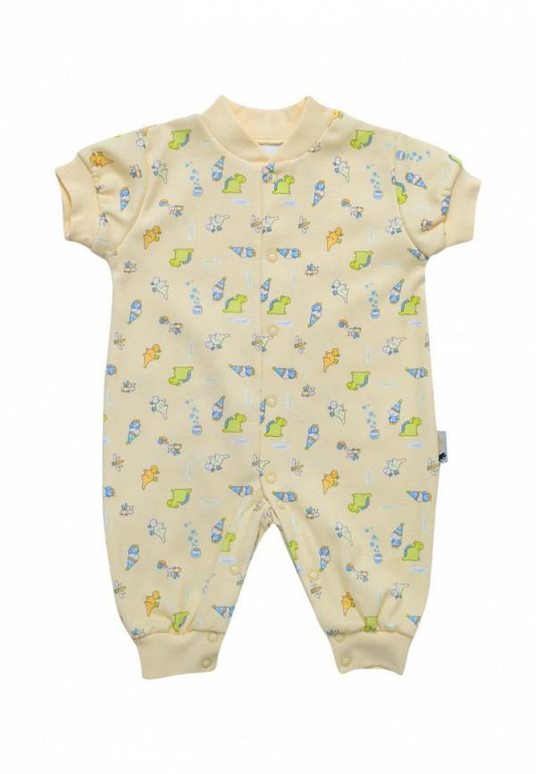 комбинезон с брюками клякса малыши, желтый