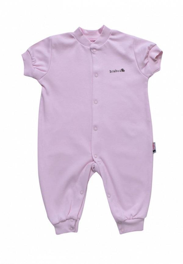 комбинезон с брюками клякса малыши, фиолетовый