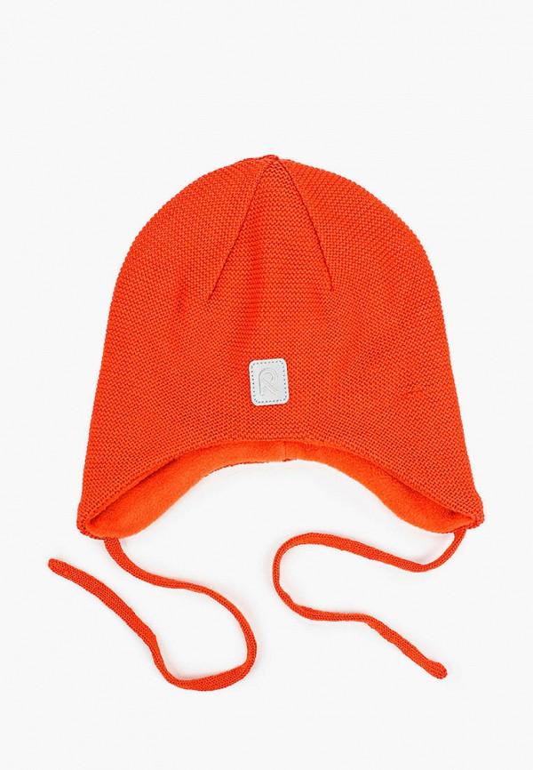 шапка reima малыши, оранжевая