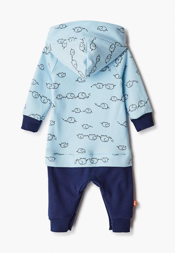 Детский комбинезон домашний КотМарКот цвет голубой  Фото 2
