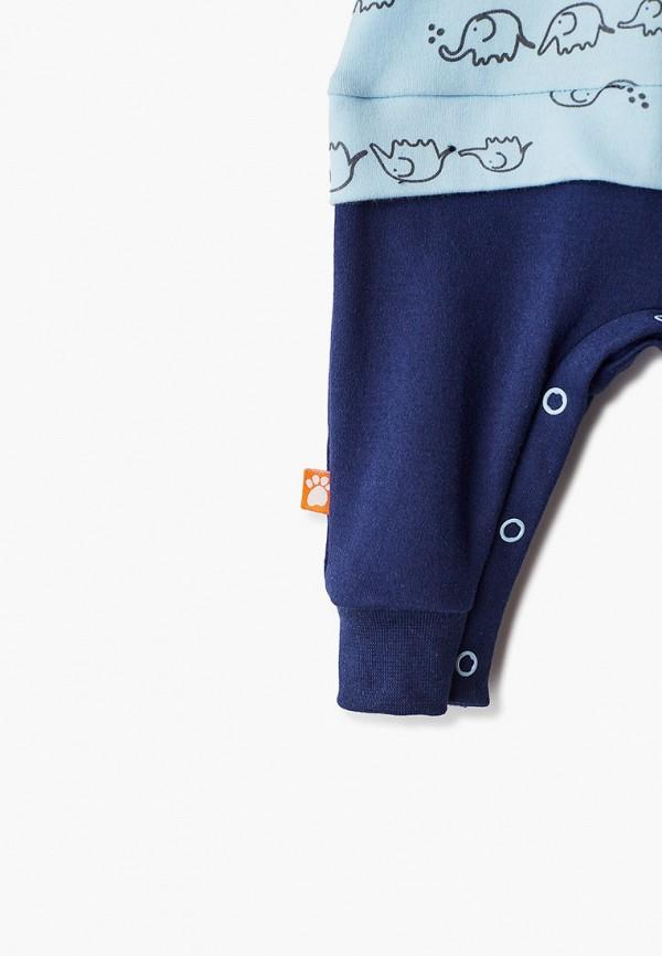 Детский комбинезон домашний КотМарКот цвет голубой  Фото 3