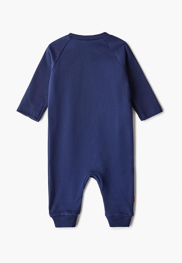 Детский комбинезон бельевой КотМарКот цвет синий  Фото 2