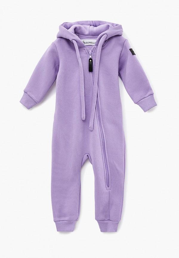 комбинезон sorelle малыши, фиолетовый