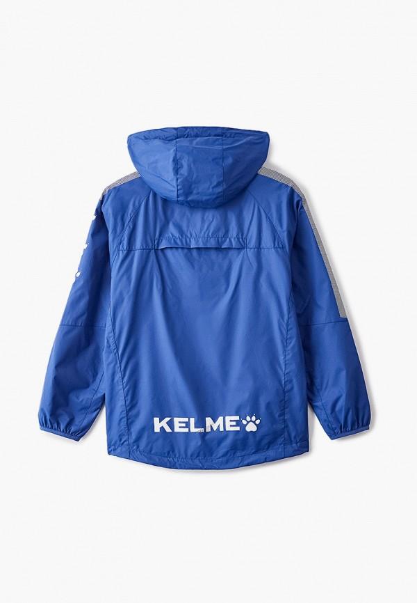 Ветровка для девочки Kelme цвет синий  Фото 2