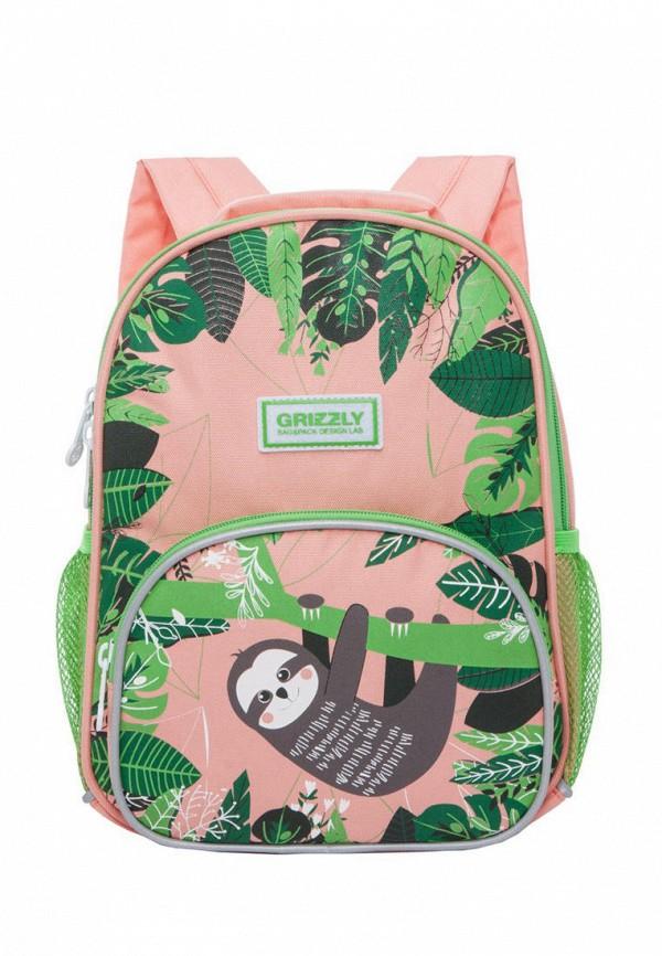 рюкзак grizzly малыши, разноцветный