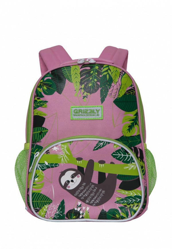рюкзак grizzly малыши, розовый