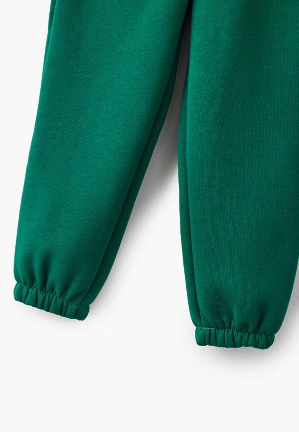 Брюки спортивные для девочки Behurr цвет зеленый  Фото 3