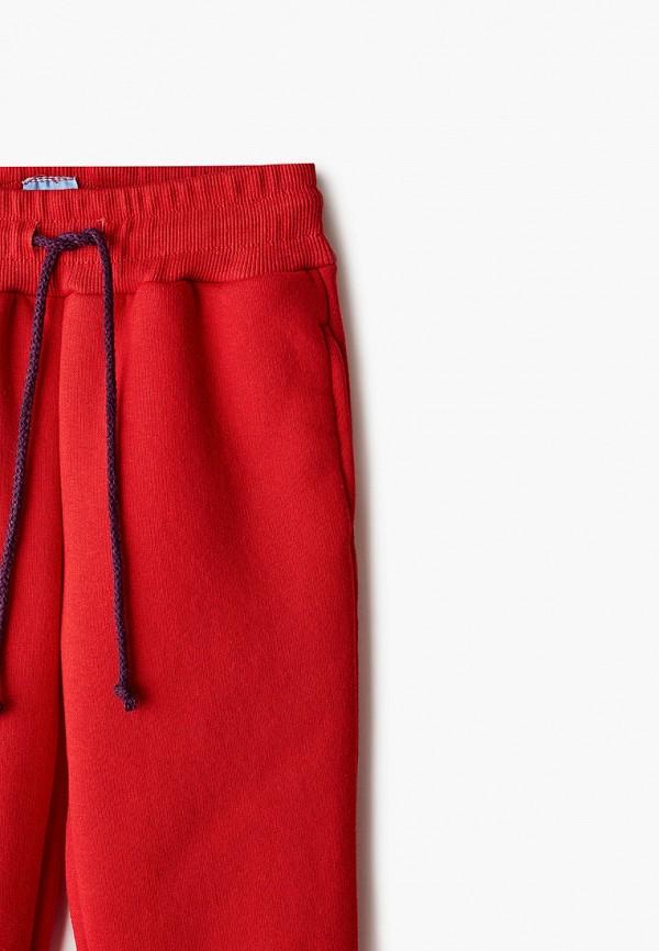 Брюки спортивные для девочки Behurr цвет красный  Фото 3