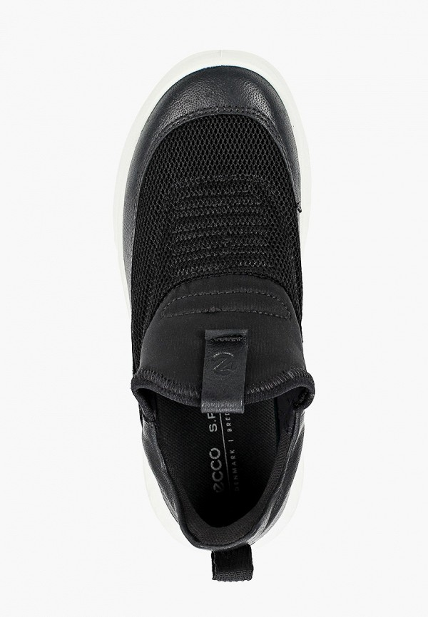 Кроссовки для мальчика Ecco цвет черный  Фото 4