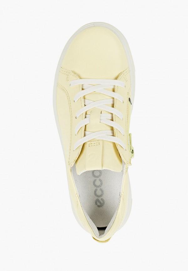 Кеды для мальчика Ecco цвет желтый  Фото 4