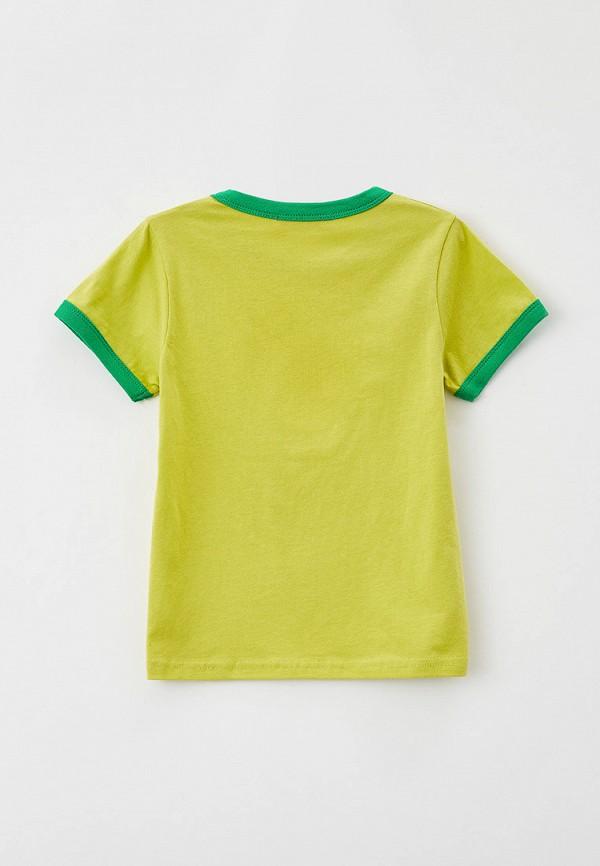 Футболка W.sharvel цвет желтый  Фото 2