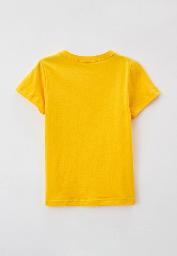 Футболка для мальчика W.sharvel цвет желтый  Фото 2