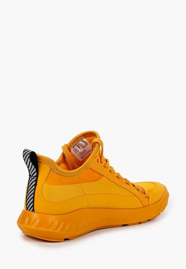 Кроссовки для девочки Ecco цвет оранжевый  Фото 3