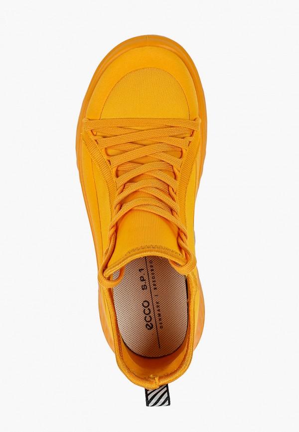 Кроссовки для девочки Ecco цвет оранжевый  Фото 4