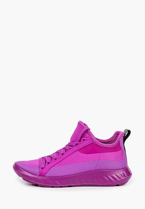 Кроссовки для девочки Ecco цвет фиолетовый