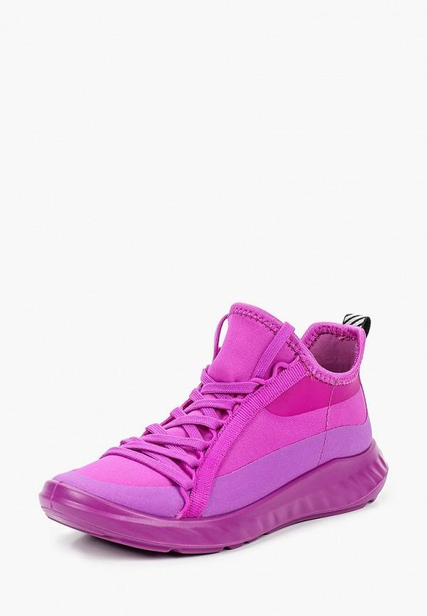Кроссовки для девочки Ecco цвет фиолетовый  Фото 2