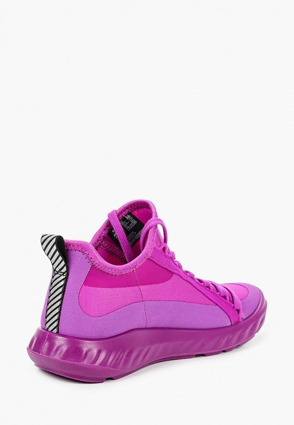 Кроссовки для девочки Ecco цвет фиолетовый  Фото 3