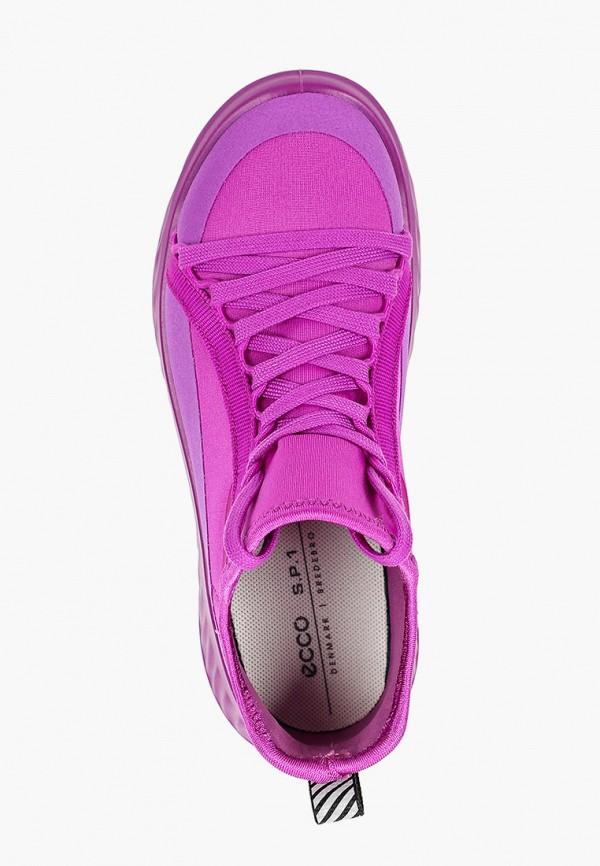 Кроссовки для девочки Ecco цвет фиолетовый  Фото 4