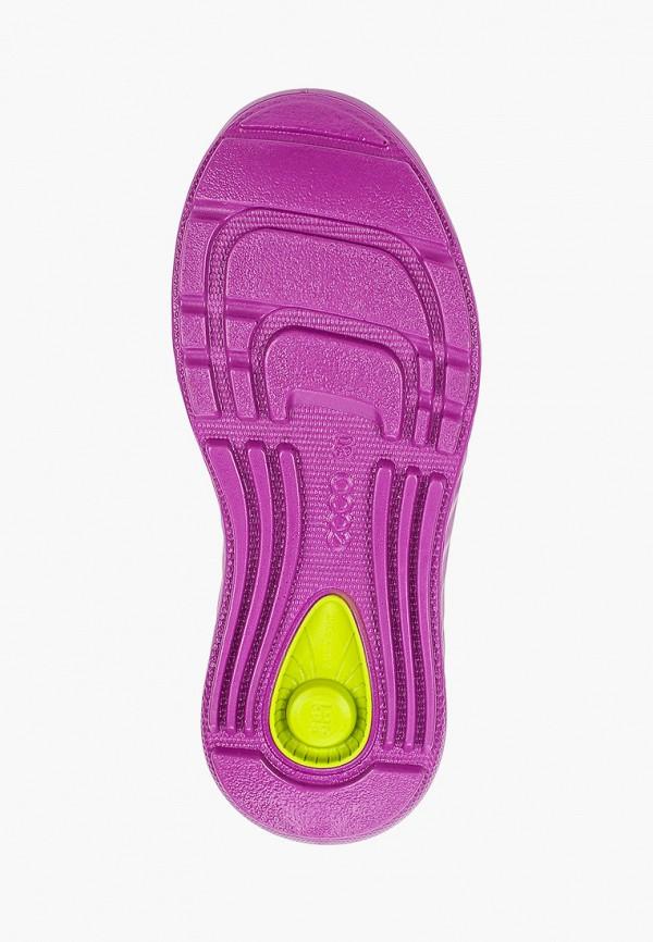 Кроссовки для девочки Ecco цвет фиолетовый  Фото 5