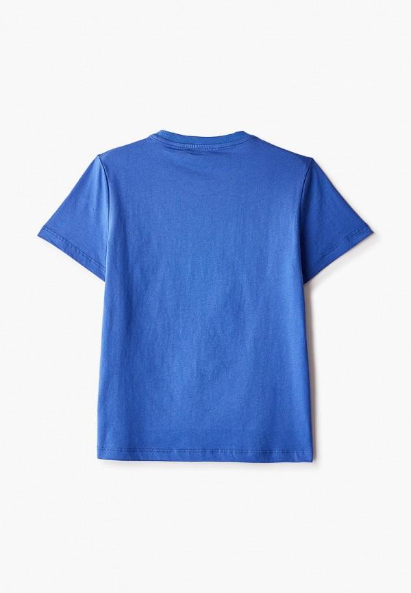 Футболка W.sharvel цвет голубой  Фото 2