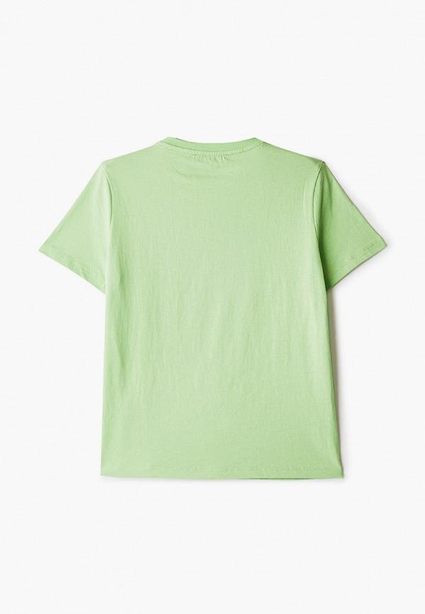 Футболка W.sharvel цвет зеленый  Фото 2