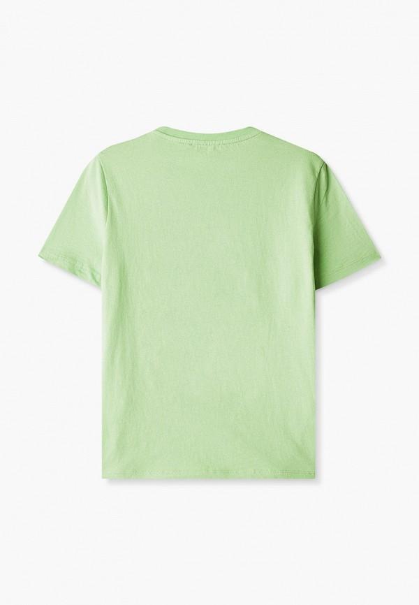 Футболка для мальчика W.sharvel цвет зеленый  Фото 2