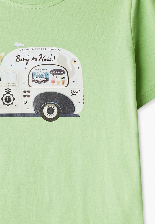 Футболка для мальчика W.sharvel цвет зеленый  Фото 3