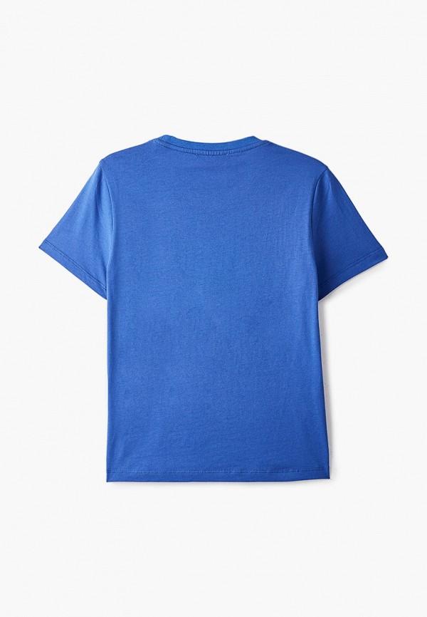 Футболка для мальчика W.sharvel цвет голубой  Фото 2
