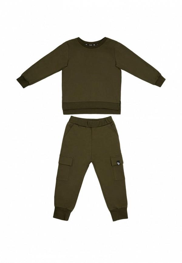 Костюм спортивный для мальчика bodo цвет зеленый