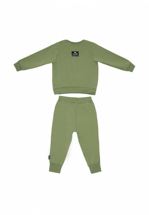 Костюм спортивный для мальчика bodo цвет зеленый  Фото 2
