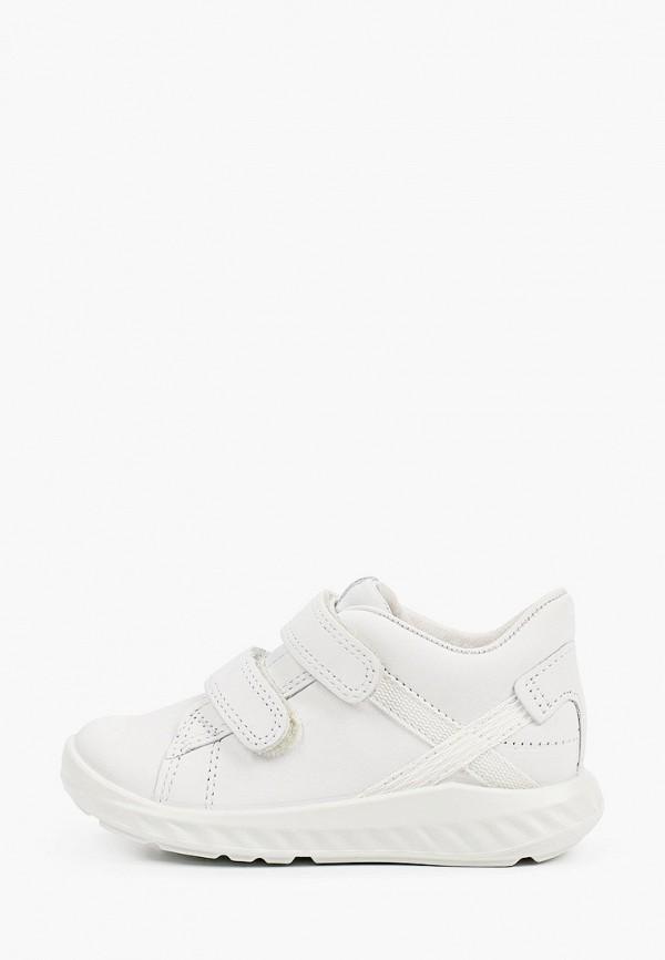 кроссовки ecco малыши, белые