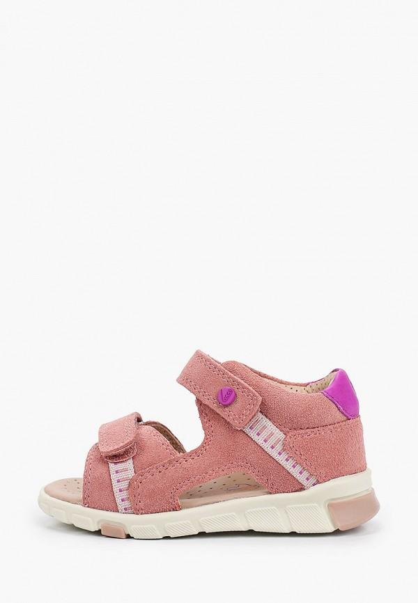 сандалии ecco малыши, розовые