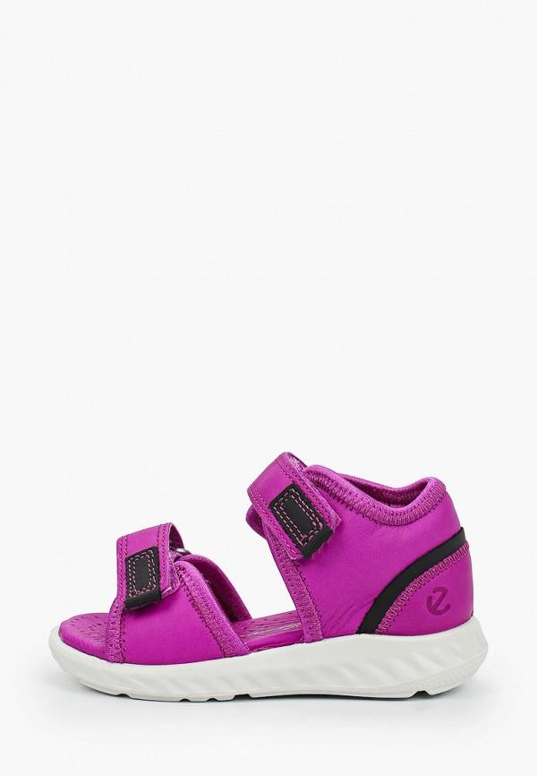 сандалии ecco малыши, фиолетовые