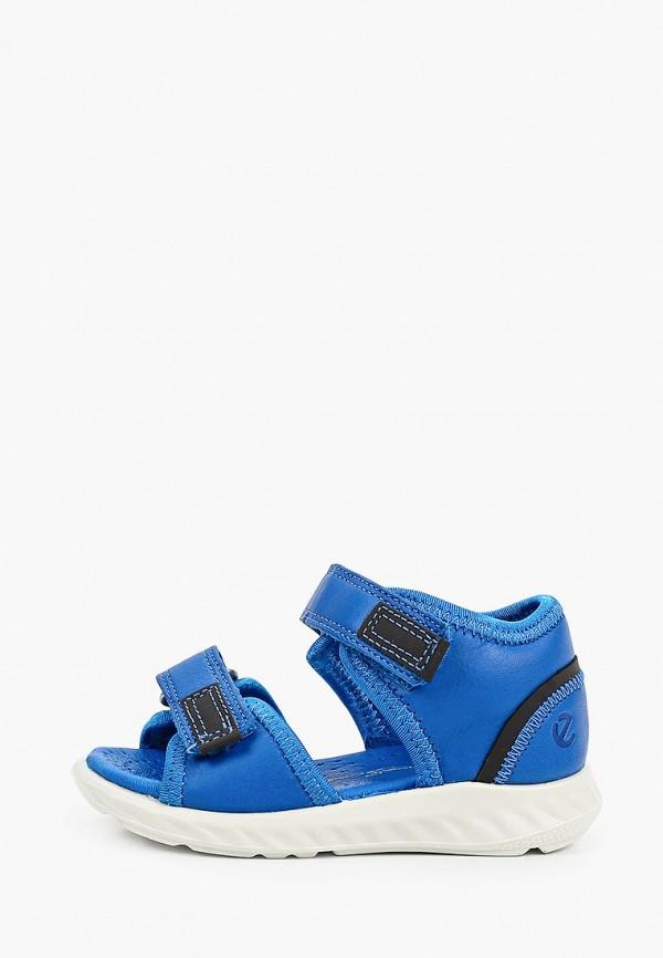 сандалии ecco малыши, синие