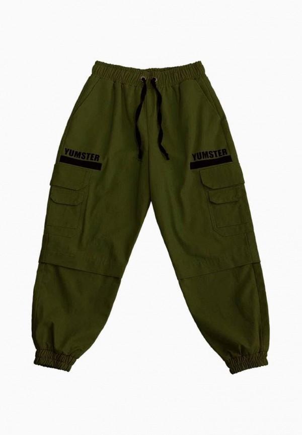 брюки yumster малыши, зеленые