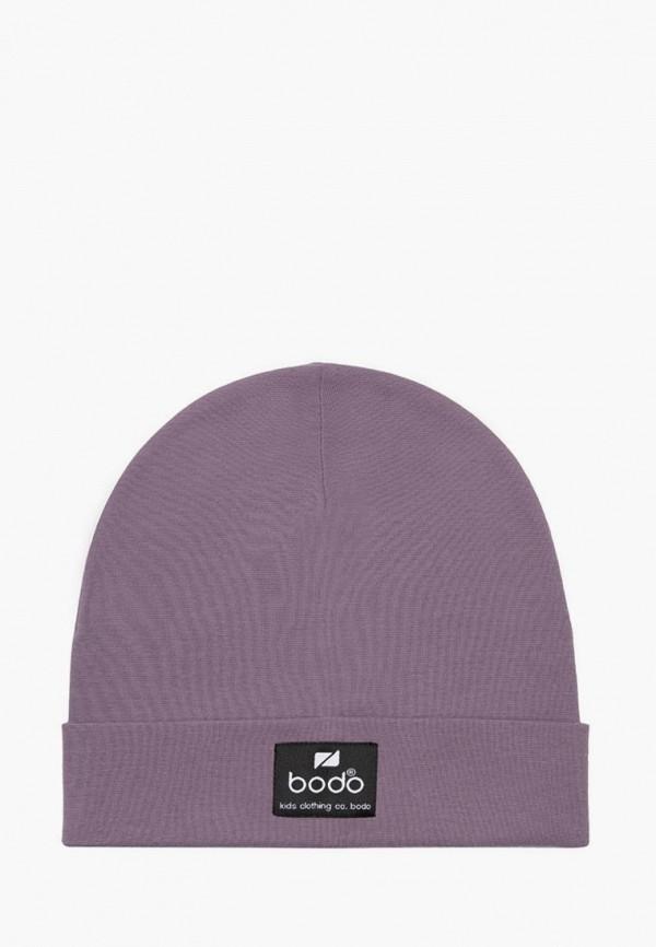 Шапка детская bodo цвет фиолетовый