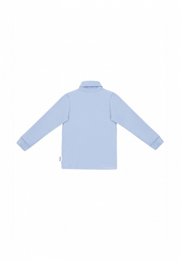 Водолазка для мальчика bodo цвет голубой  Фото 2