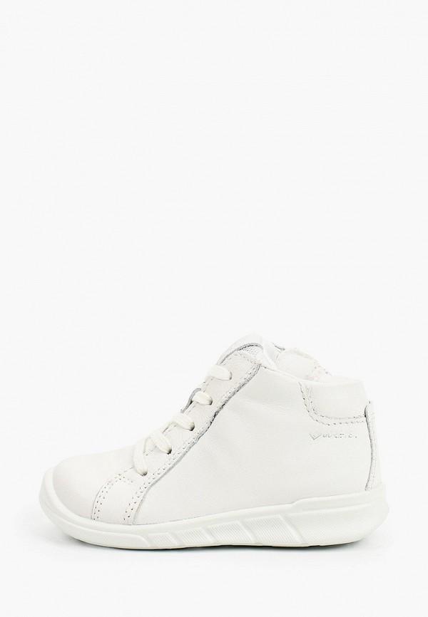 ботинки ecco малыши, белые