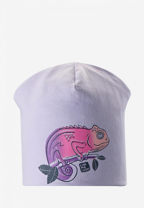 шапка lassie by reima малыши, фиолетовая