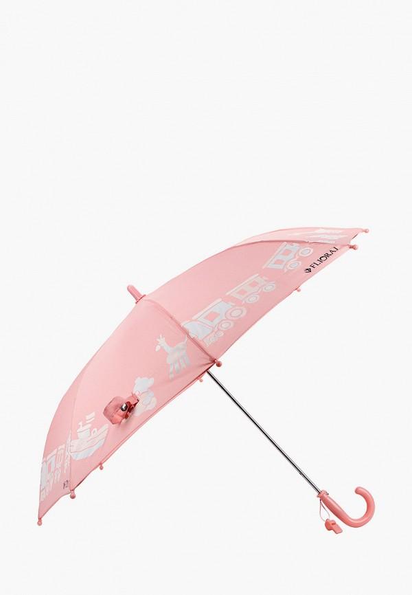 Детский зонт-трость Flioraj цвет розовый