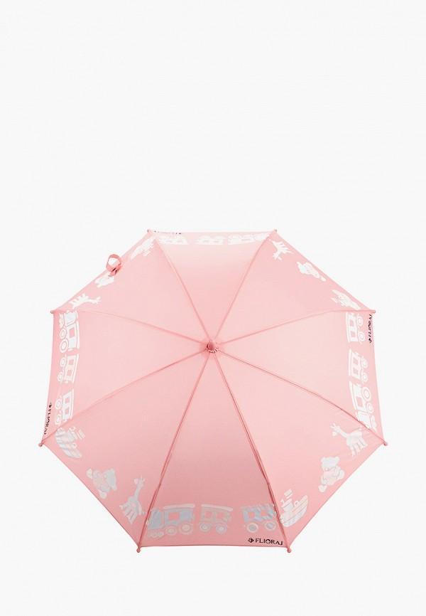 Детский зонт-трость Flioraj цвет розовый  Фото 2