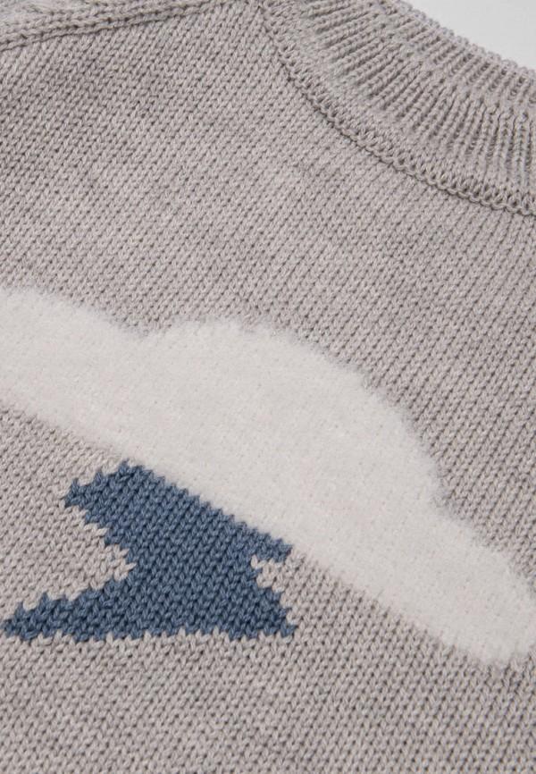 Джемпер для мальчика Bossa Nova цвет серый  Фото 3