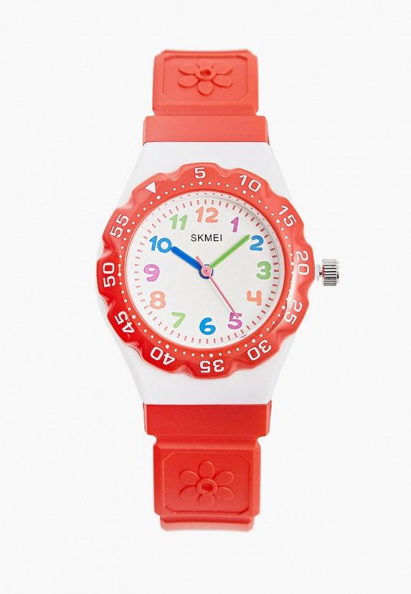 часы skmei малыши, красные
