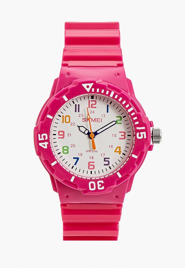 часы skmei малыши, розовые