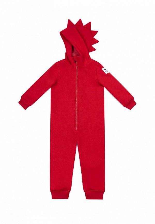 комбинезон с брюками bodo малыши, красный