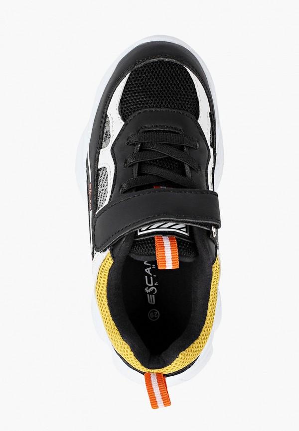 Кроссовки для девочки Escan цвет черный  Фото 4