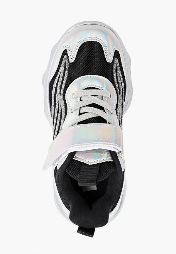 Кроссовки для девочки Escan цвет серебряный  Фото 4