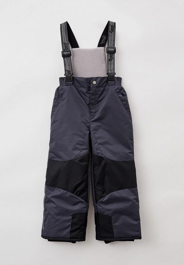 утепленные брюки oldos малыши, серые